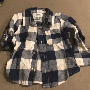 Old Navy flannel shirt